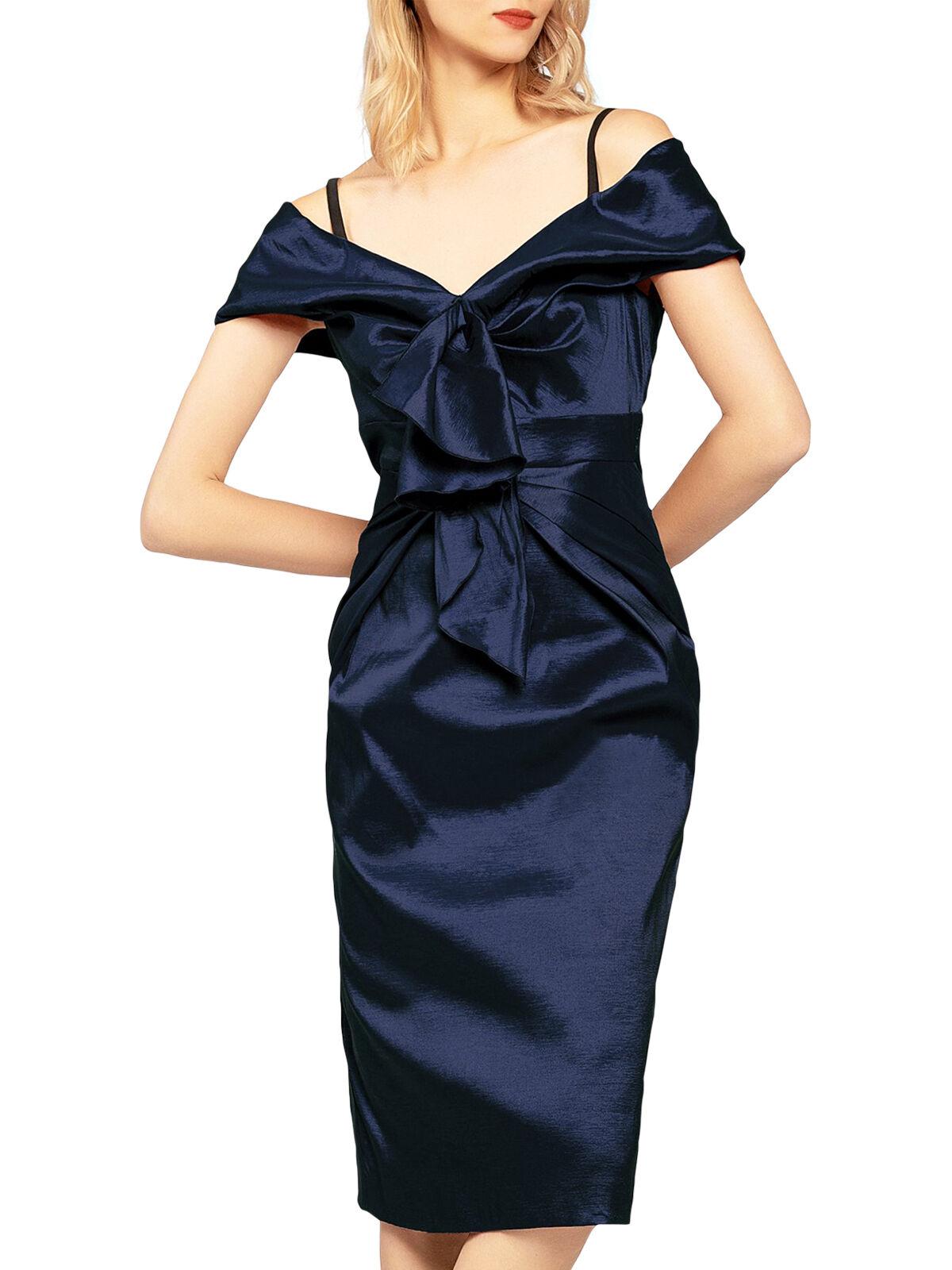 Vestido de tafetán