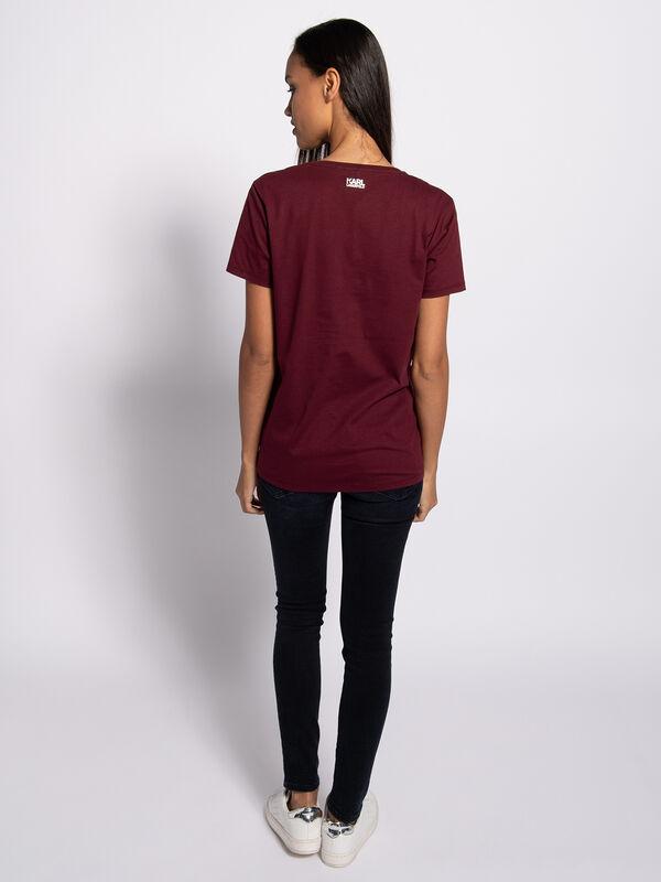 Camiseta karl v neck