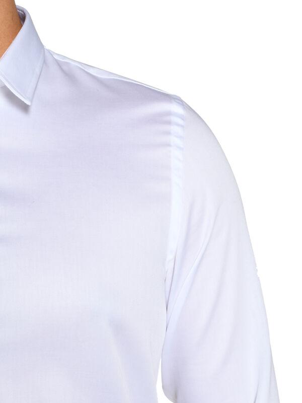 Camisa con puños Slim Fit