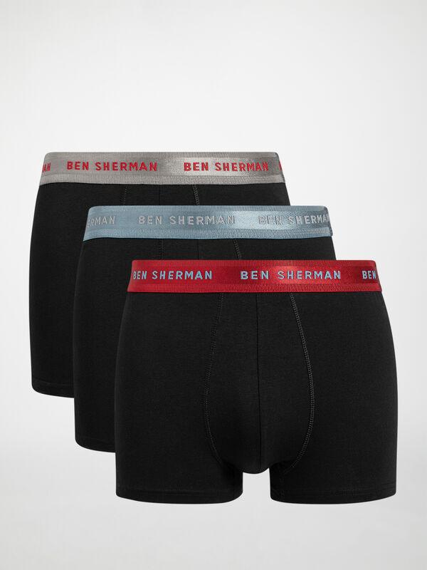 Set de 3 calzoncillos boxer