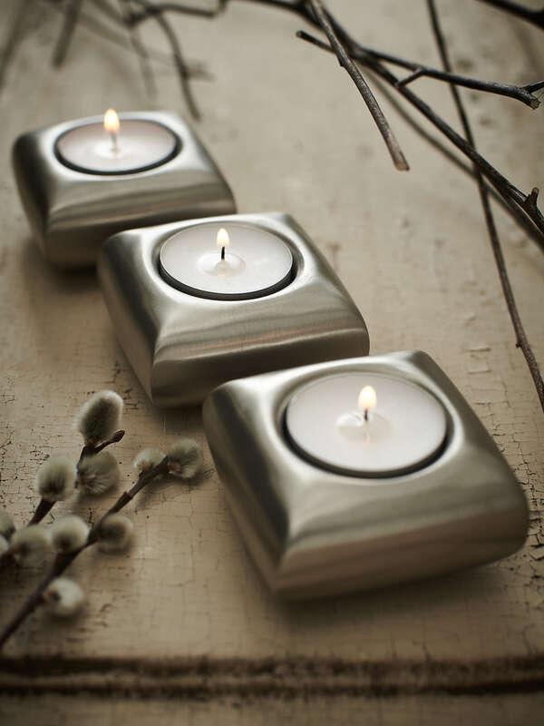 Set de 3 candelabros