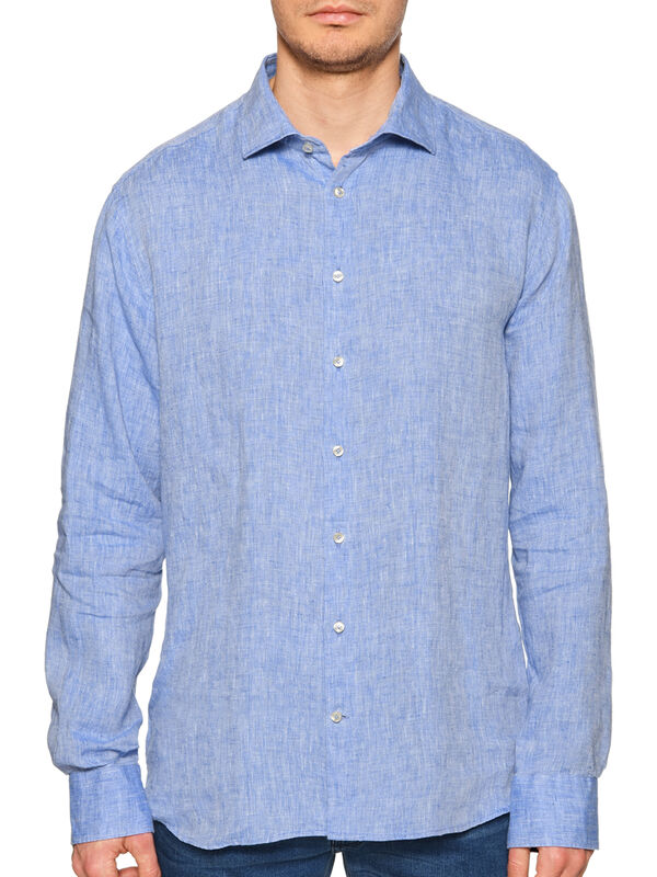 Camisa de lino Regular Fit