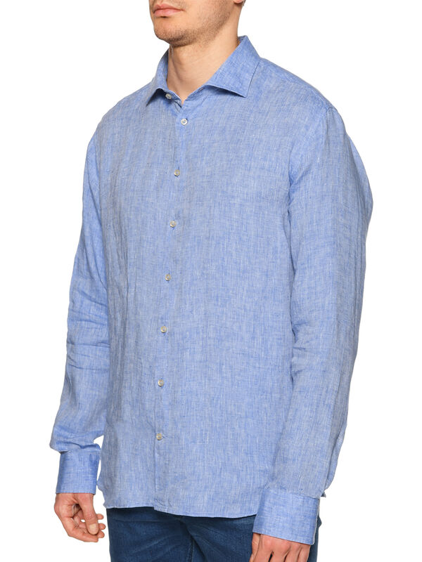 Camisa de lino Regular Fit