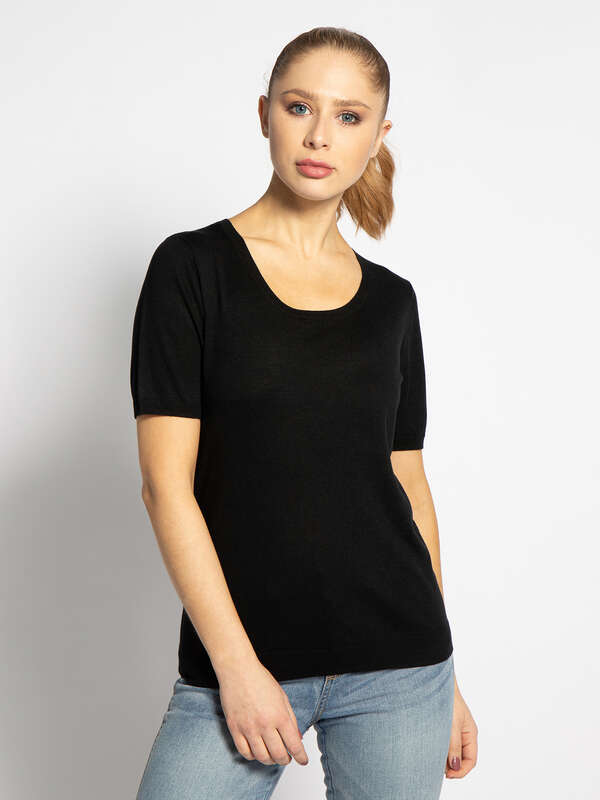Cashmere Blend Knitted Top