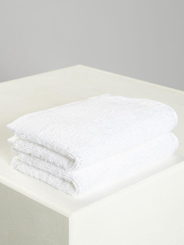 Set de 2 toallas cosméticas 20x30cm