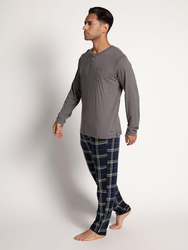 Parte superior del pijama