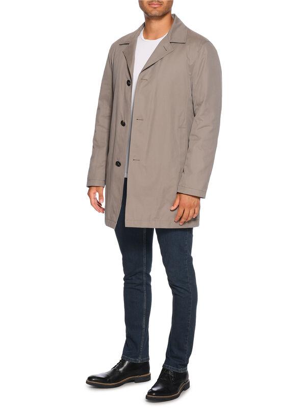 Abrigo con chaqueta interior